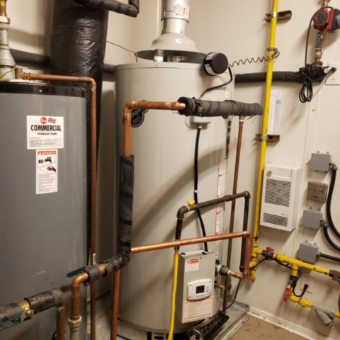 Oilfield Camp Hot Water Tank Replacement