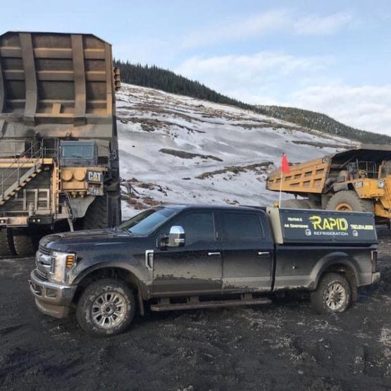 Heavy Equipment AC Repair at Local Mine