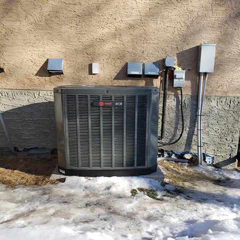 Furnace Replacement & New A/C Install