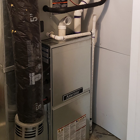 Furnace Replacement & New Central A/C Install